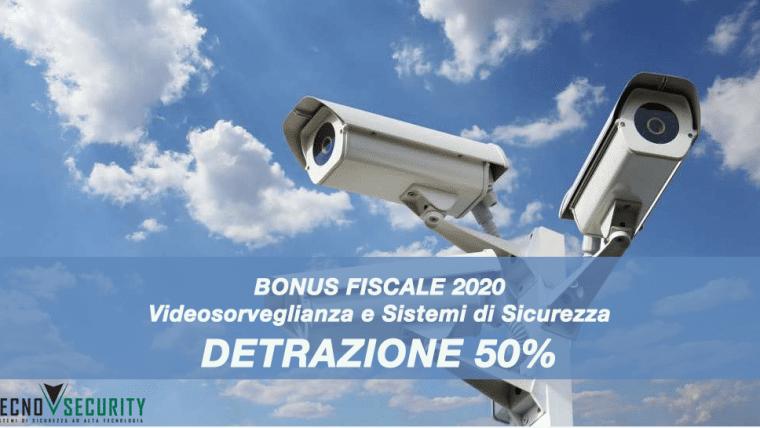 Detrazione fiscale 50% antifurto bonus sistemi di sicurezza 2020