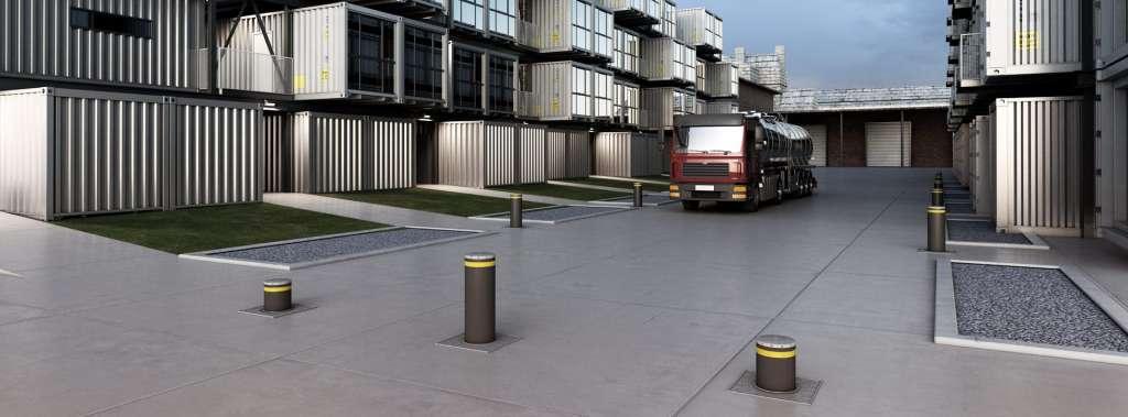 fornitura e vendita dissuasori stradali e mezzi forti in tutta la sardegna tecno security
