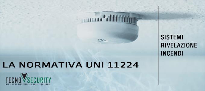 manutenzione sistemi impianti rivelazione incendi oristano sardegna tecno security norma UNI 11224