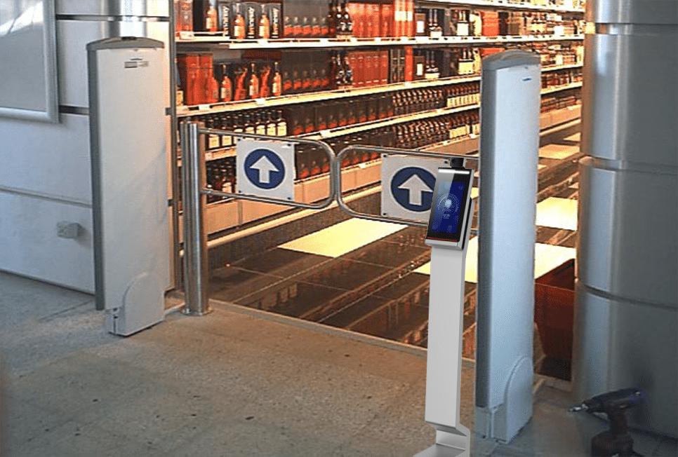rilevazione temperatura controllo accessi covid 19