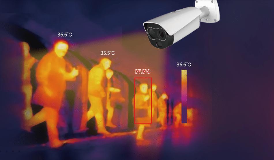 termocamera covid tecno security oristano installazione vendita termocanere termo camere videosorveglianza termica fase 2